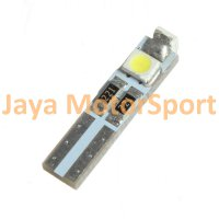 Lampu LED Mobil / Motor / Speedometer / Dashboard T5 PCB 3 SMD 1210 White - Model Nyamping