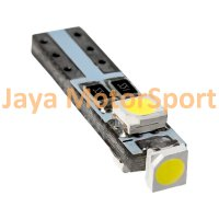 Lampu LED Mobil / Motor / Speedometer / Dashboard T5 PCB 3 SMD 1210 Ice Blue - Model Nyamping