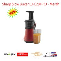 Sharp Slow Juicer EJ-C20Y-RD - Merah, 0.8 Lt, 150 watt (New Model)