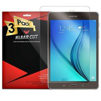 [poledit] Klear Cut [3 Pack] - Screen Protector for Samsung Galaxy Tab A 8.0 - Lifetime Re/11172333