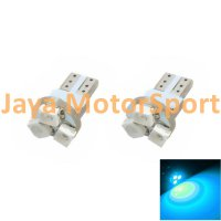 Lampu LED Mobil / Motor / Speedometer / Dashboard T5 PCB 3 SMD 1210 Ice Blue - Model Jamur