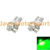 Lampu LED Mobil / Motor / Speedometer / Dashboard T5 PCB 3 SMD 1210 Green - Model Jamur