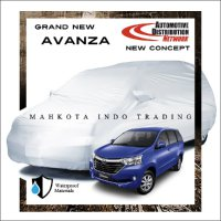 Custom Double Layer Body Cover / Sarung Mobil Grand New