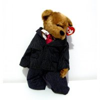 Boneka Teddy Bear Prince William Original TY The Attic Treasure Collection Limited Edition