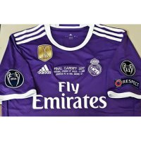 Jersey Real Madrid Away Final Cardiff UCL 2017 grade ori official