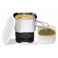 MASPION Dual Voltage Travel Cooker MEC-3500