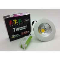 Lampu Ceiling Downlight LED COD 7 watt ( cahaya putih )