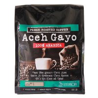 Sentra Kopi Aceh Gayo Arabica Whole Bean Coffee 500 Gram - Biji Arabika 500 Gram
