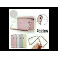 SHINING CHROME JELLY CASE ASUS ZENFONE LASER 6' (Platinum)