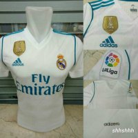 JERSEY BOLA REAL MADRID HOME ADIZERO OFFICIAL 17/18 (PLAYER EDITION)