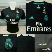JERSEY BOLA REAL MADRID AWAY ADIZERO OFFICIAL 17/18 (PLAYER EDITION)