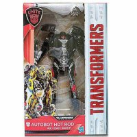 38 - HOT ROD DELUXE EXCLUSIVE WALMART TRANSFORMERS THE LAST KNIGHT