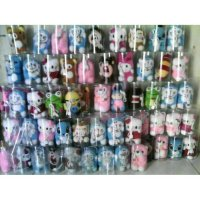 37 - Powerbank 9000mah BONEKA Hello Kitty Doraemon Stitch Keropi Panda
