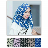 Pashmina Denim Butterfly Seri 2