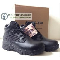 Sepatu Delta Forces 6' Tactical Black Boots Tactical Import