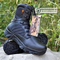 Sepatu Delta Forces 8' Black Tactical Boots USA