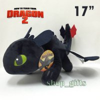 06 - Boneka Toothless 45cm Boneka How To Train Dragon Kucing Panda
