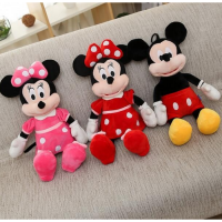 Boneka Mickey Mouse 40cm Boneka Disney Boneka Minnie Mouse