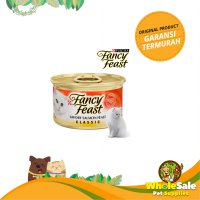 FANCY FEAST CLASSIC SAVORY SALMON FEAST 85GR - MAKANAN KUCING