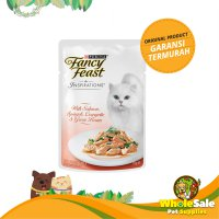 FANCY FEAST INSPIRATION SALMON SPINACH N GREEN BEANS 70GR - MAKANAN KUCING