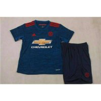 Jersey Bola Kids Grade ORI Manchester United Away Official 16/17