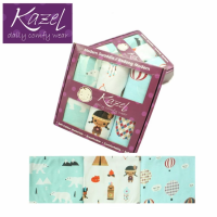 Kazel Modern Swaddle Indian - Bedong Modern isi 3