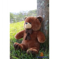 BONEKA TEDDY BEAR COKLAT XL 75CM MODEL IMPORT