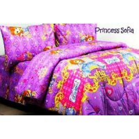 Jaxine Sprei Katun motif Kartun Uk.100x200x20cm (Small Single)