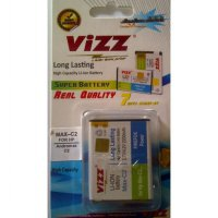 Battery Double Power VIZZ Smartfren Andromax C2 2200mah