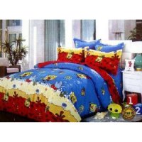 Jaxine Sprei Katun motif Kartun Part 2 Uk.100x200x20cm (Small Single)