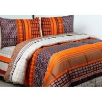 Jaxine Sprei Katun Motif Uk. 90X200X20 Cm - Extra Single