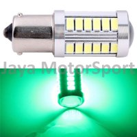 Lampu LED Mobil / Motor S25 1156 / BA15S 33 SMD 5630 - Green
