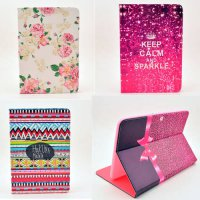 [globalbuy] Case Cover For Samsung Galaxy Tab 2 10.1 Inch P5100 Case Flower tablet Leather/3462556