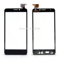 [globalbuy] Black Original Digitizer Touch Screen Glass For Alcatel One Touch Idol 6030 OT/2781398