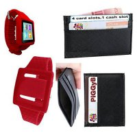 [macyskorea] PiGGyB Hold It Apple iPod Nano 6th Groovy Watch Band Leather Credit Card Hold/13252168