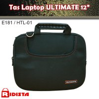 Tas Laptop / Softcase Ultimate 12' E181 / Htl-02 - Hitam