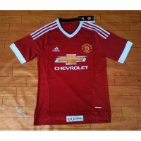 JERSEY MANCHESTER UNITED HOME/AWAY 2015/2016 OFFICIAL