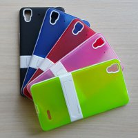 Candy Case Oppo R7 / silikon / casing / cover / soft / back / standing / kickstand / softcase