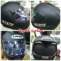 INK CL MAX FULL FACE HELM INK CL MAX SOLID BLACK DOFF FULL FACE