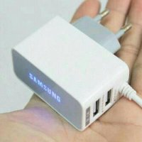 Charger Samsung Galaxy 3in1 micro dan USB Acer/advan/android