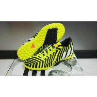 ADIDAS PREDATOR YELLOW BLACK - TURF [SEPATU FUTSAL] [REPLIKA IMPORT]