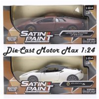 Die Cast Motor Max Satin Paint Collection Scale 1:24