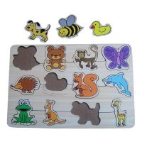 Puzzle Kayu Baby Animals