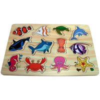 Puzzle Kayu Sea Animals