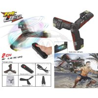 Hoverblade 2.4G Remote Control UFO Rechargeable Flying With FlashLight