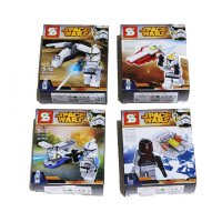 MAINAN LEGO SPACE WARS SY212A PER 4 (66099004)