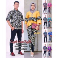 Batik Couple SANIA RUFFLE