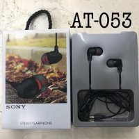 HANDSFREE HEADPHONE EARPHONE HEADSET AT 053 SONY