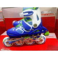 Inline Skate Cougar New Blue - White