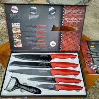 Pisau Set Dapur Royalty Line anti lengket / Knife set Stainless